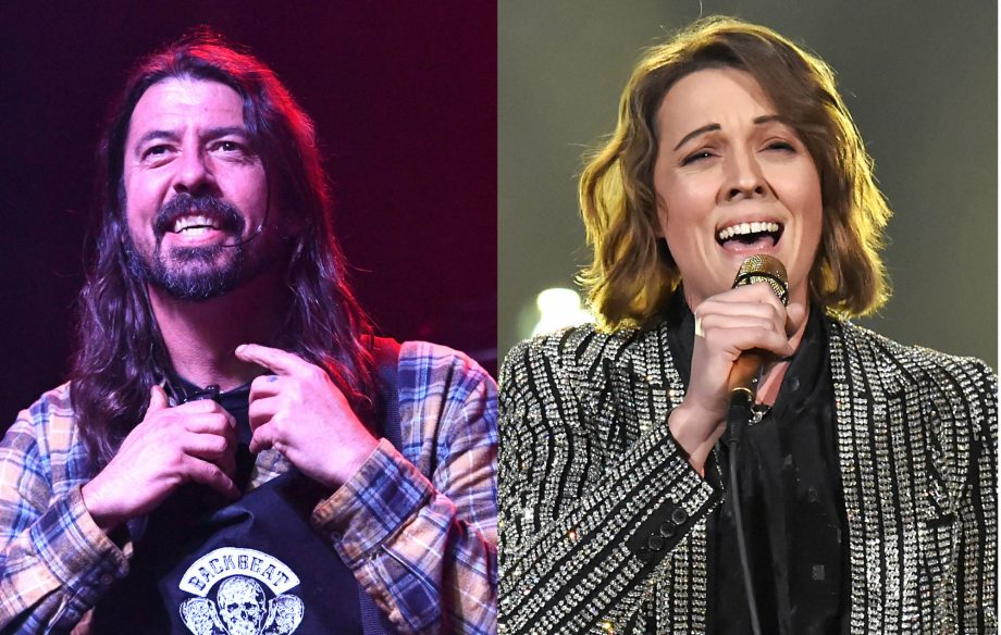 Watch Dave Grohl and Brandi Carlile go busking in Seattle