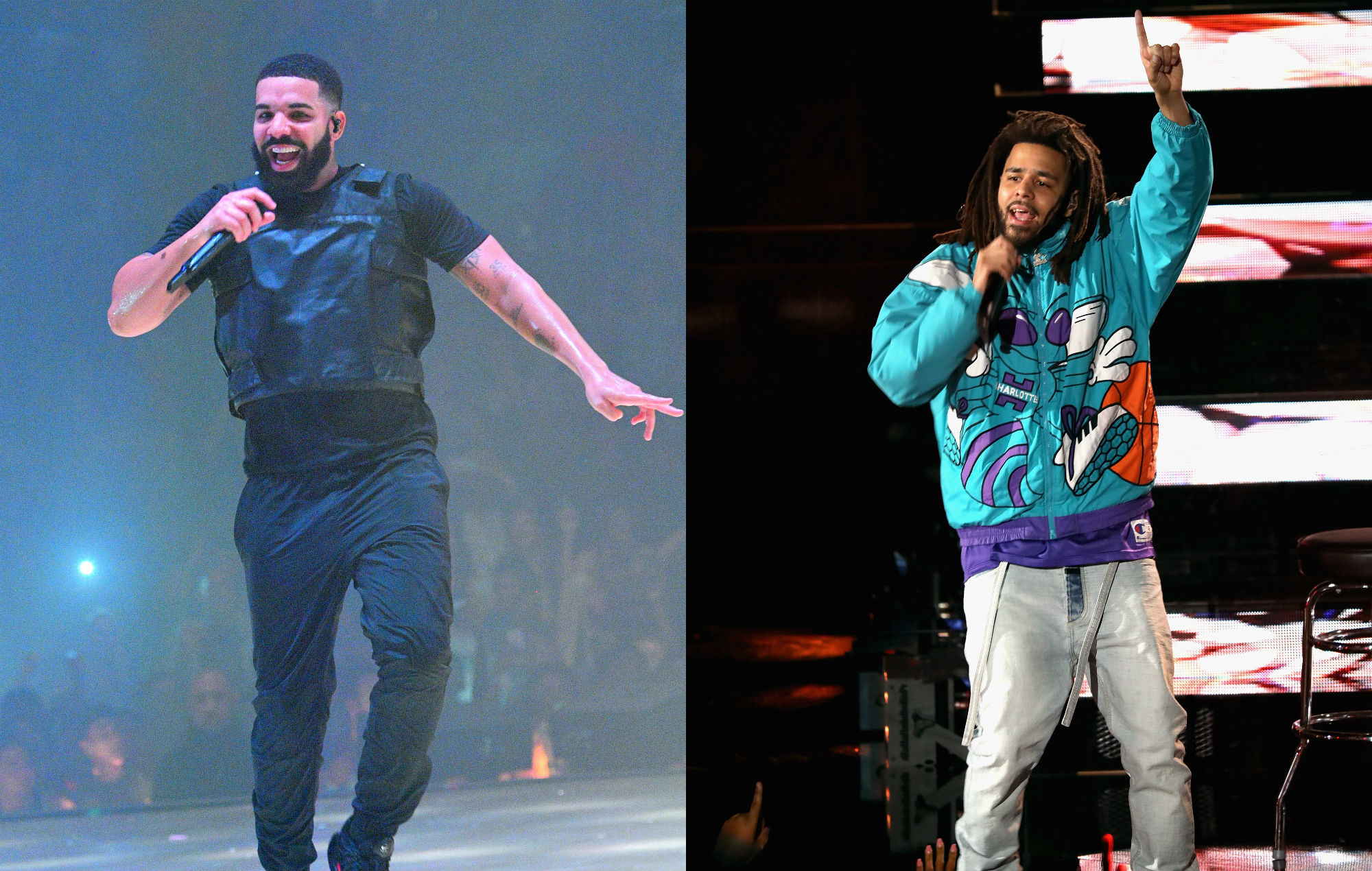 Watch Drake Bring J Cole On Stage In London And Promise