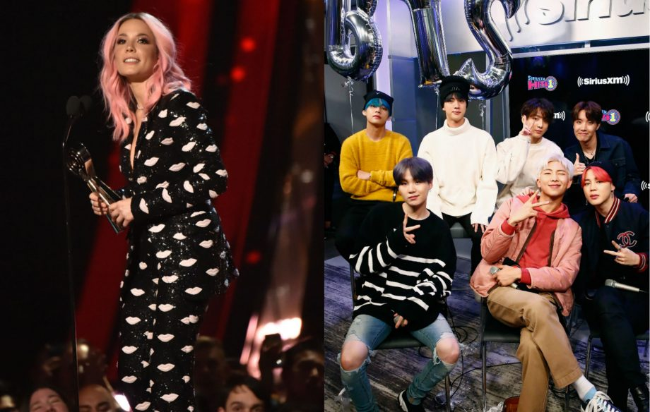 Halsey says dancing with BTS in 'Boy With Luv' music video