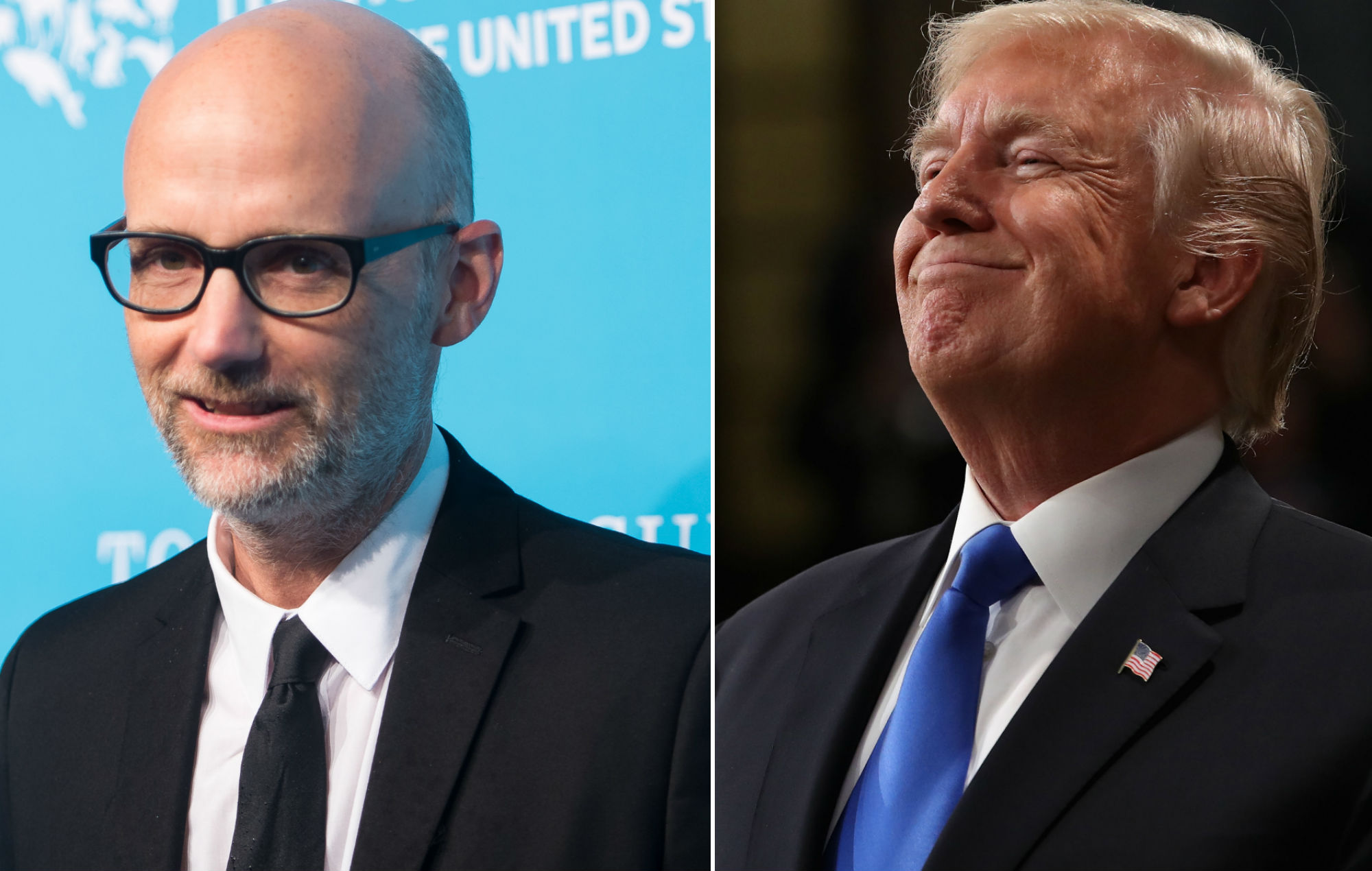"""Moby """"rubbed his penis"""" on Donald Trump at a New York party"""