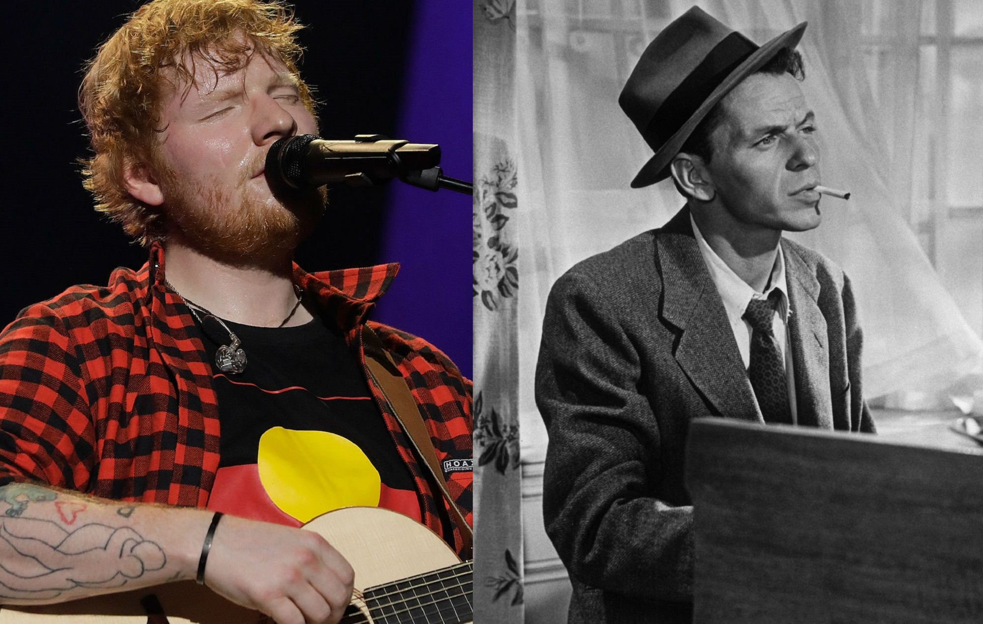 Ed Sheeran And Frank Sinatra Are The Most Popular Artists