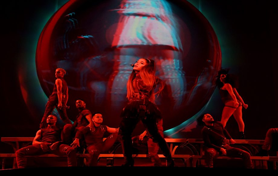 Ariana Grande made a surprise visit to a nightclub to watch drag queens sing her hits