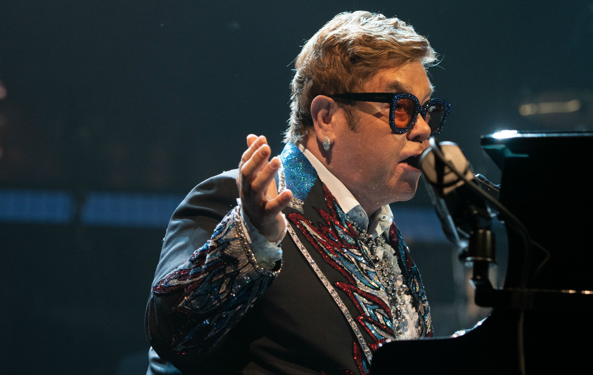 Elton John feared he wouldn't be able to perform sober after addiction treatment
