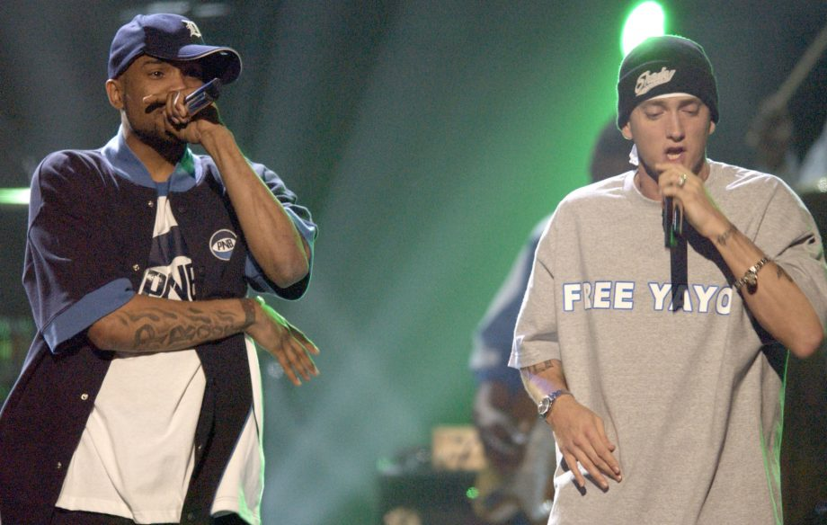 Listen to an unreleased Eminem and Proof freestyle from 1999
