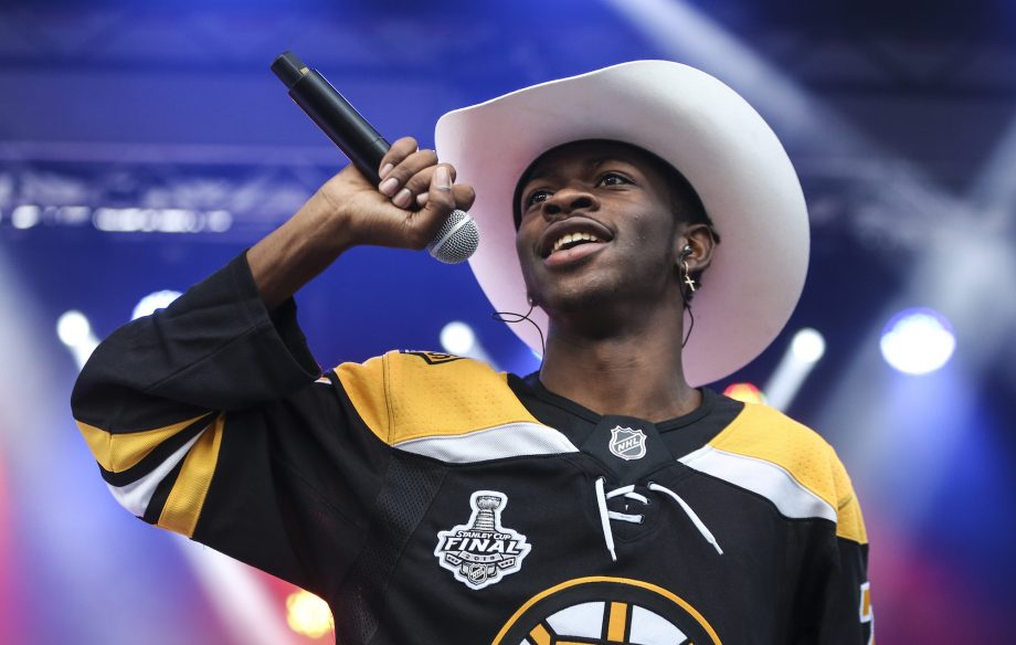 Watch Lil Nas X surprise school kids with a performance of 'Old Town Road'