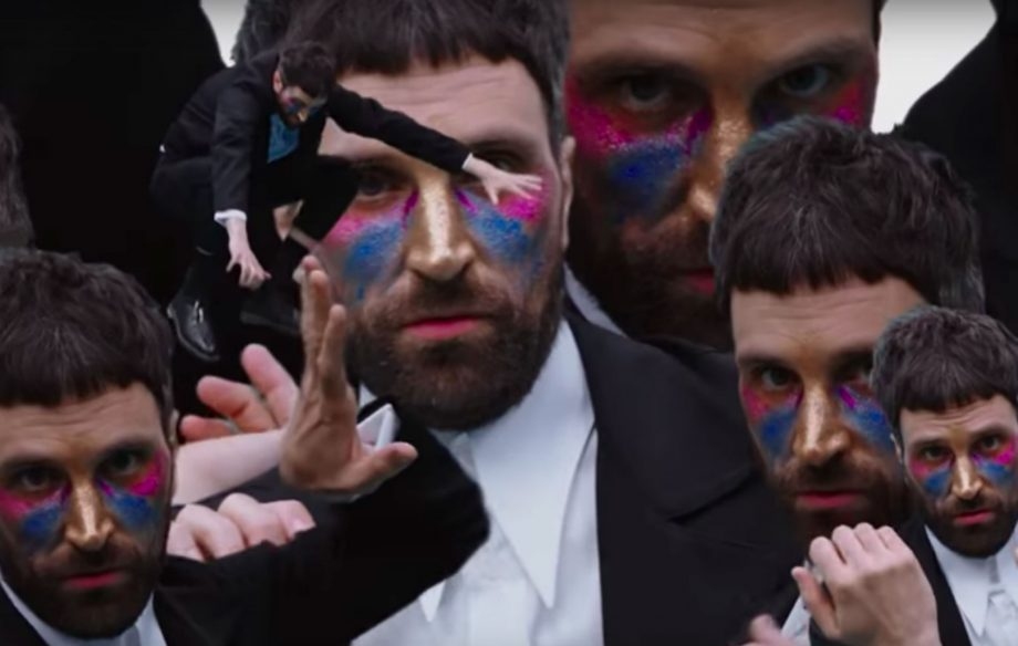 Watch Kasabian's Serge Pizzorno do some arty dancing in his video for The S.L.P.'s 'Favourites'