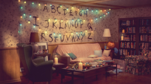 IKEA's new ad campaign features living room sets from