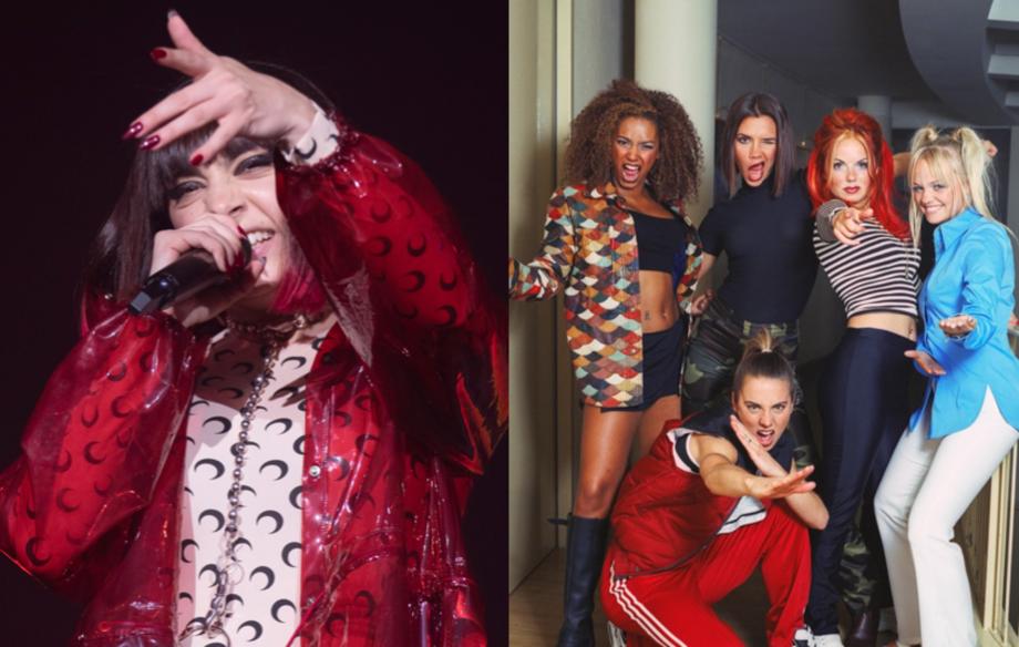 Watch Charli XCX perform a remix of Spice Girls' 'Wannabe'