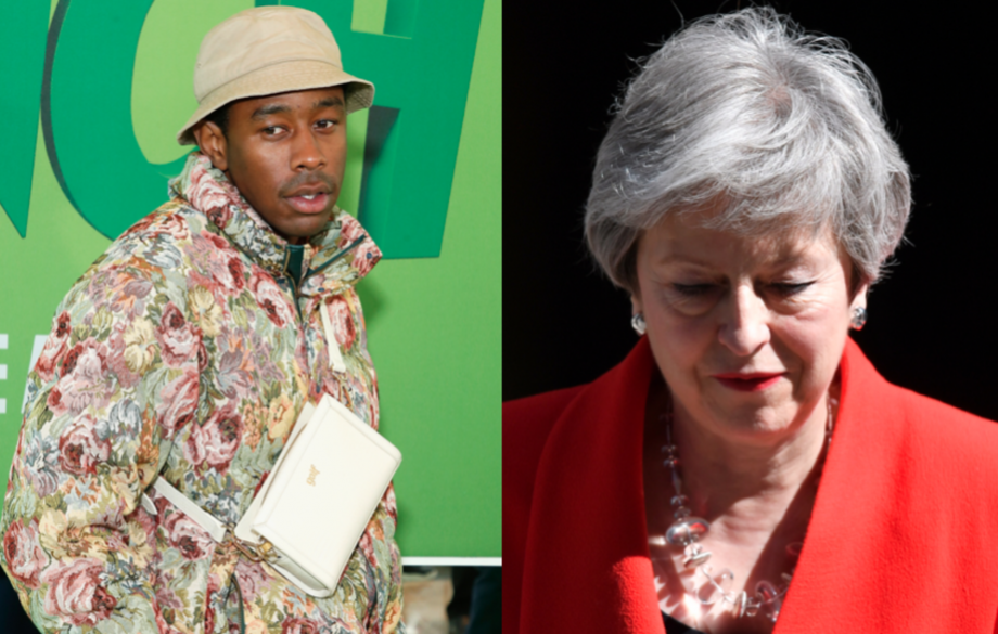 Tyler, The Creator responds to Theresa May's resignation after she banned him from the UK