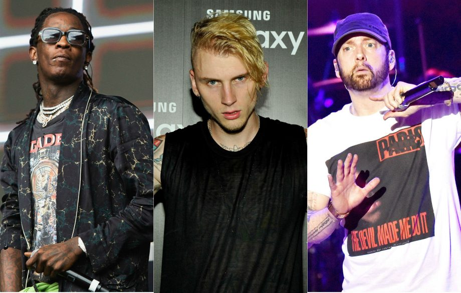 "Young Thug says Machine Gun Kelly ""murdered"" Eminem with 'Rap Devil'"