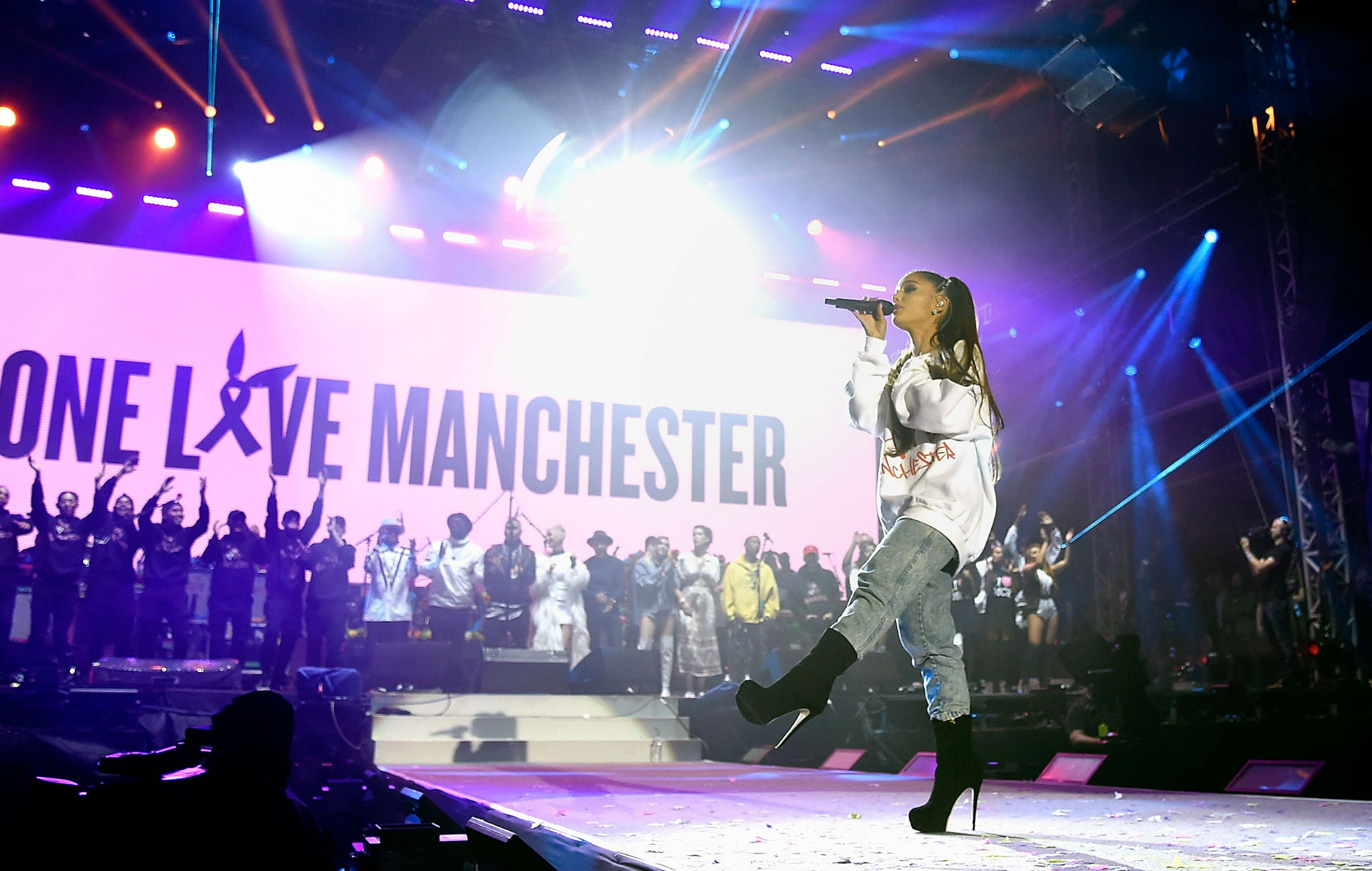 Ariana Grande Marks Second Anniversary Of Manchester Arena