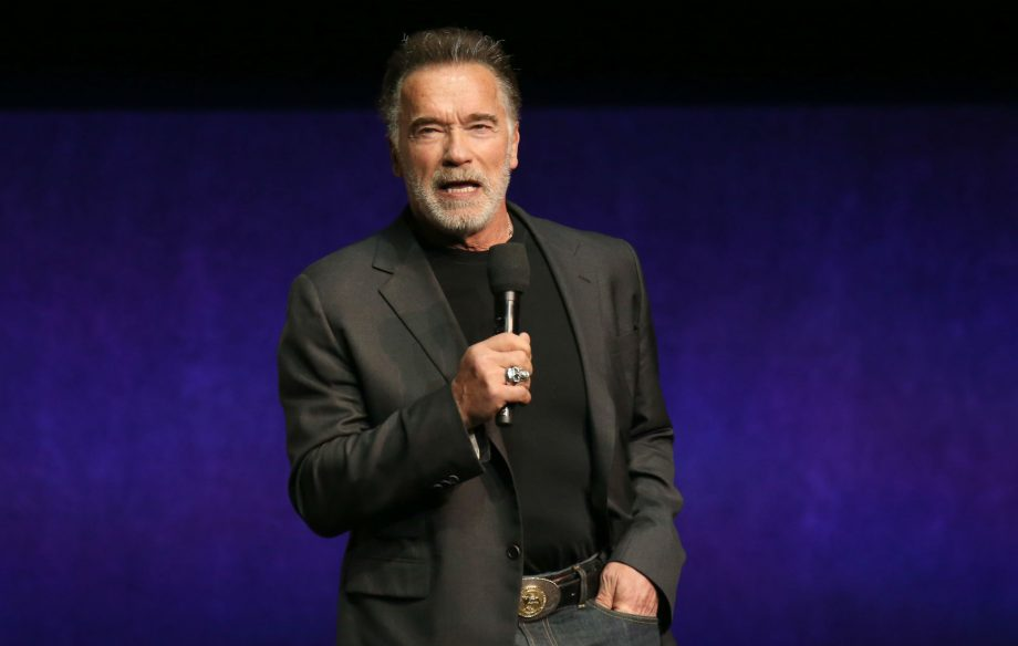 Arnold Schwarzenegger kicked in the back during event in South Africa
