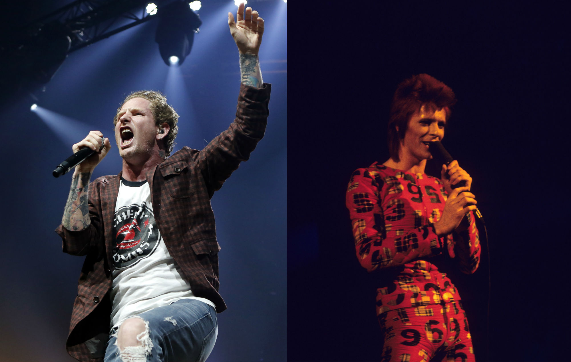Watch Slipknot S Corey Taylor Cover David Bowie S Moonage