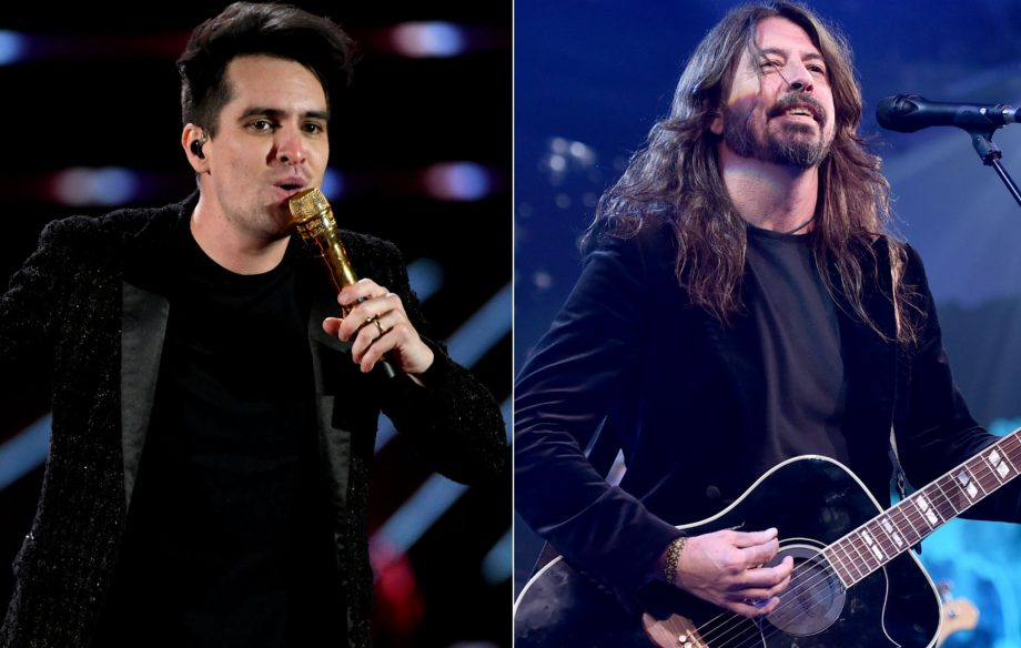 Panic! At The Disco's Brendon Urie says Dave Grohl inspired pre-show ritual
