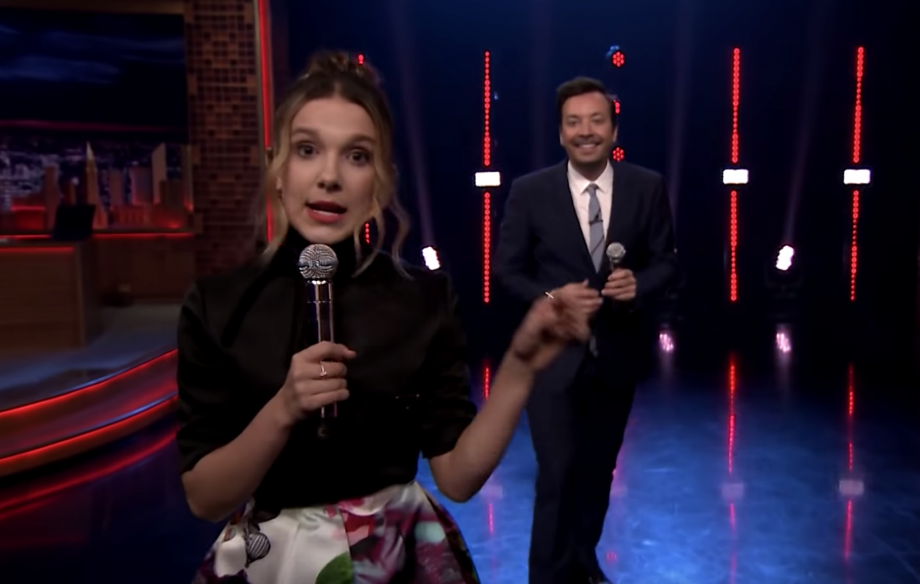 Watch Millie Bobby Brown cover Lorde and Lizzo in 'Beat Battle' with Jimmy Fallon