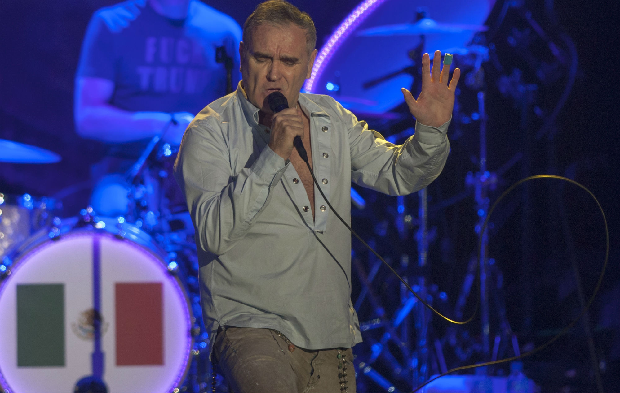 "Morrissey Hits Out At ""vengeful And Paranoid"" Criticism"