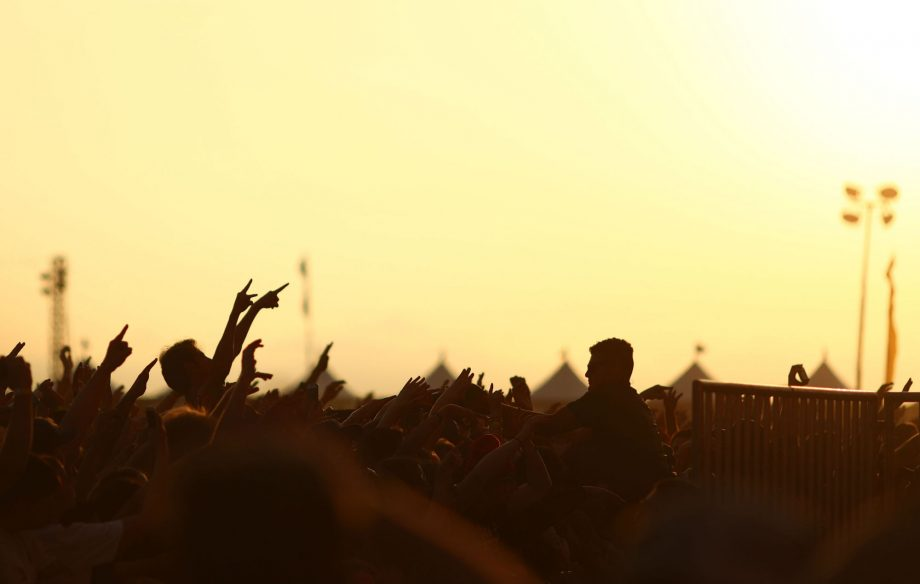 A music festival in Edinburgh has banned mobile phones