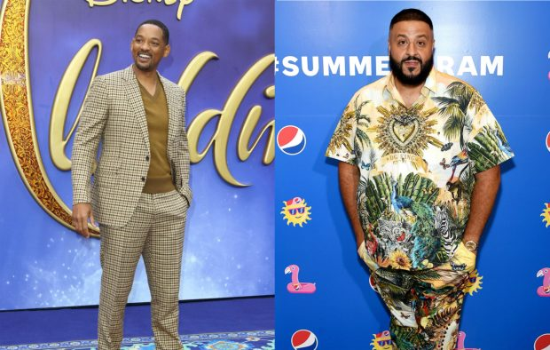 c6f96410129ec Listen to Will Smith and DJ Khaled s rap-heavy remake of  Friend Like Me   for  Aladdin  soundtrack