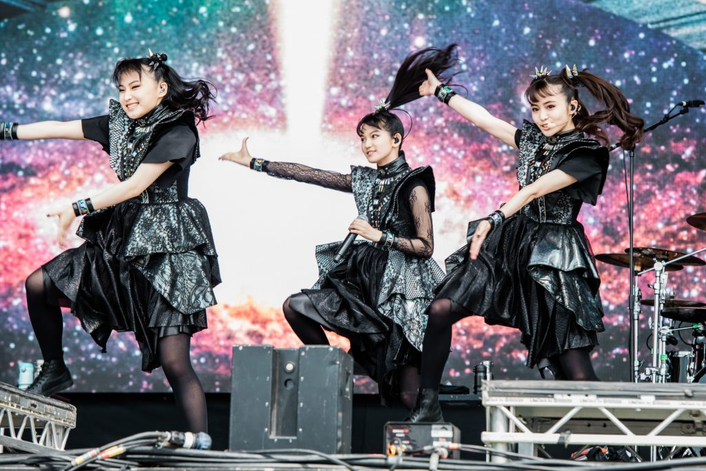 BABYMETAL at Glastonbury, 2019