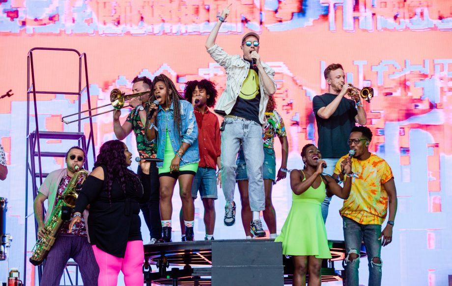 Bastille transform Glastonbury 2019 into a 'Doom Days' daytime rave on their ambitious Pyramid Stage debut