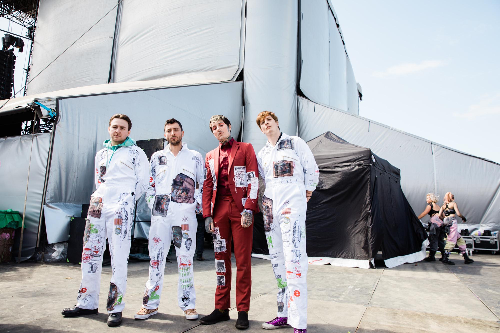 Bring Me The Horizon At Glasto On New Music Big Live