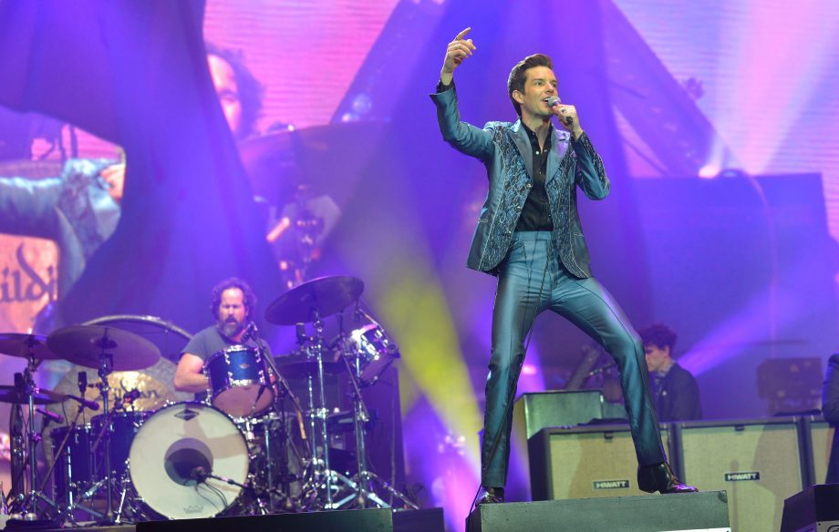The Killers' Glastonbury set was the loudest in the festival's history