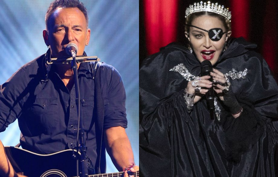 Bruce Springsteen beats Madonna to Number 1 album spot with 'Western Stars'