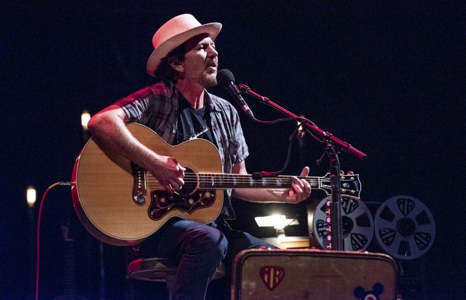 Eddie Vedder reunites with fan he met on tour almost 27 years ago