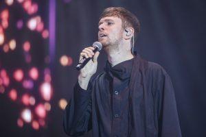 James Blake performs on stage at Rosalia concert during Primavera Sound