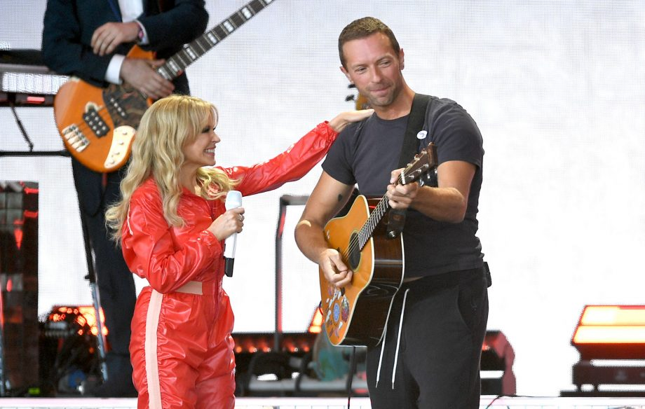 """Kylie Minogue thinks her acclaimed Glastonbury debut wasn't """"good enough"""""""