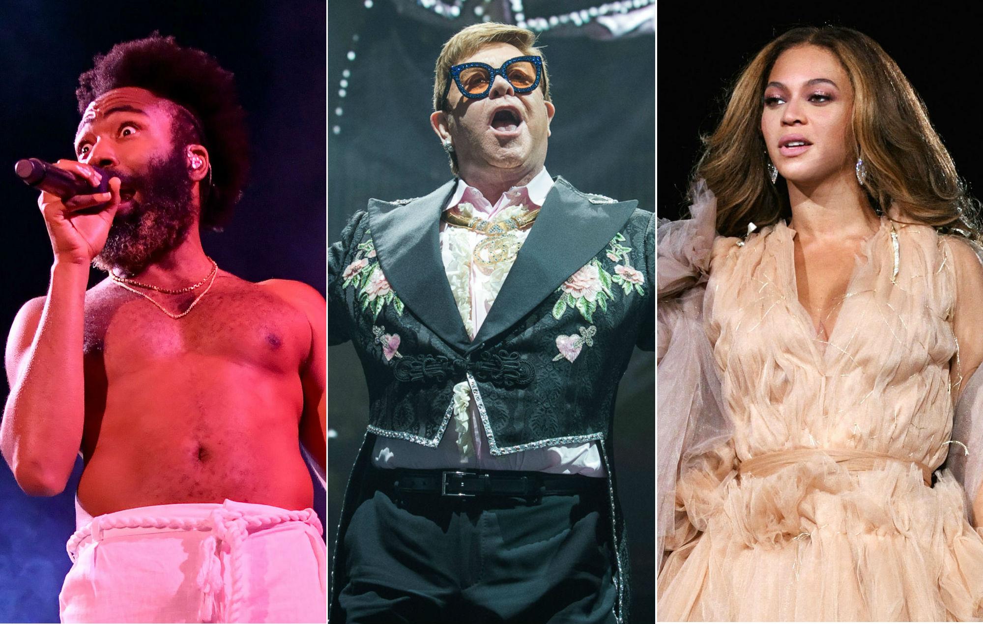 Beyoncé, Elton John, Childish Gambino and more announced for