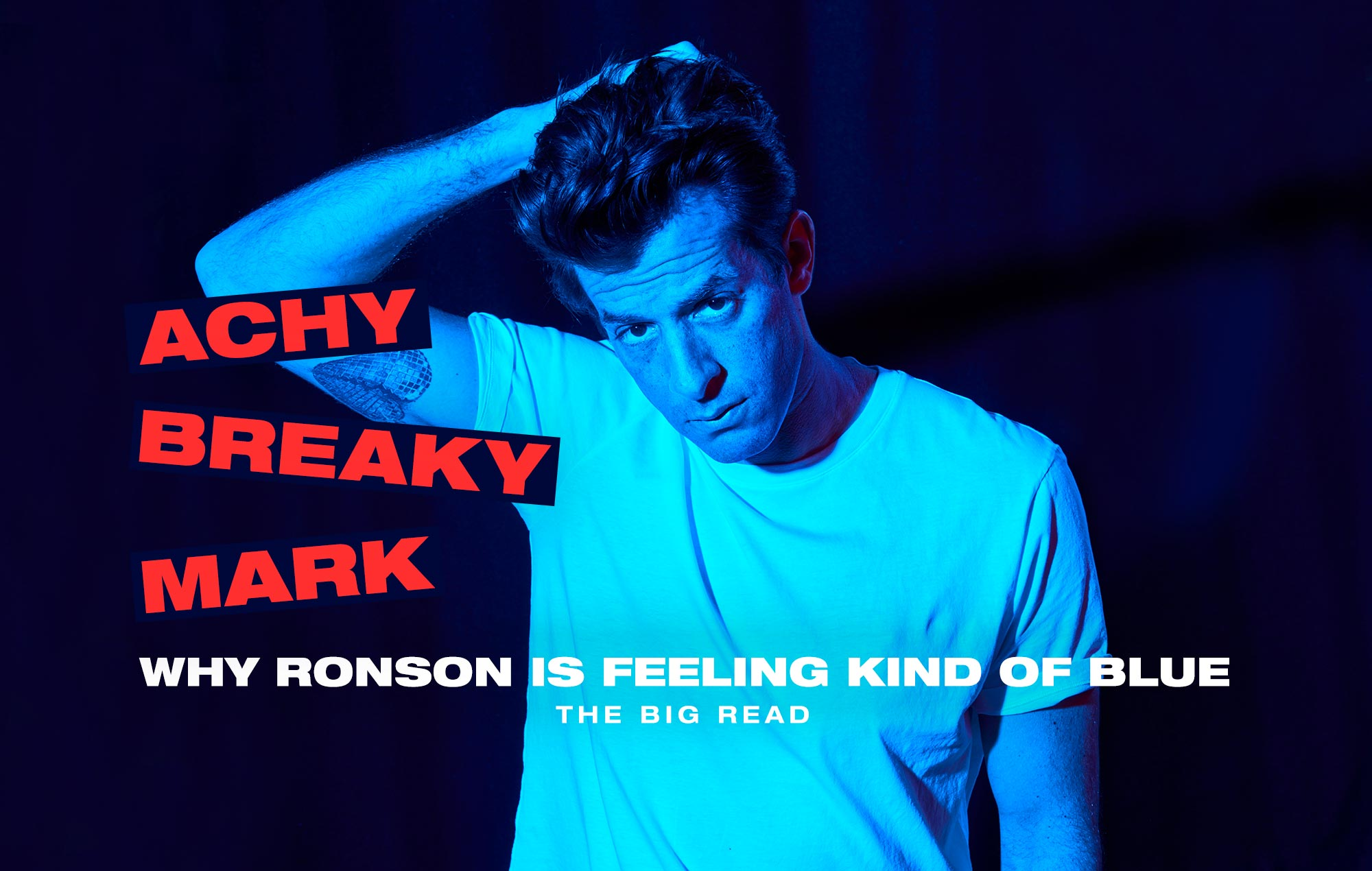 """The Big Read – Mark Ronson: """"Amy Winehouse turned my song"""
