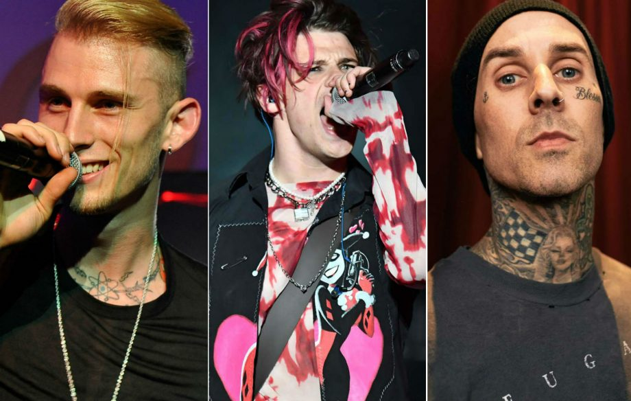 Listen to Machine Gun Kelly, Yungblud and Travis Barker's collab 'I Think I'm Okay'