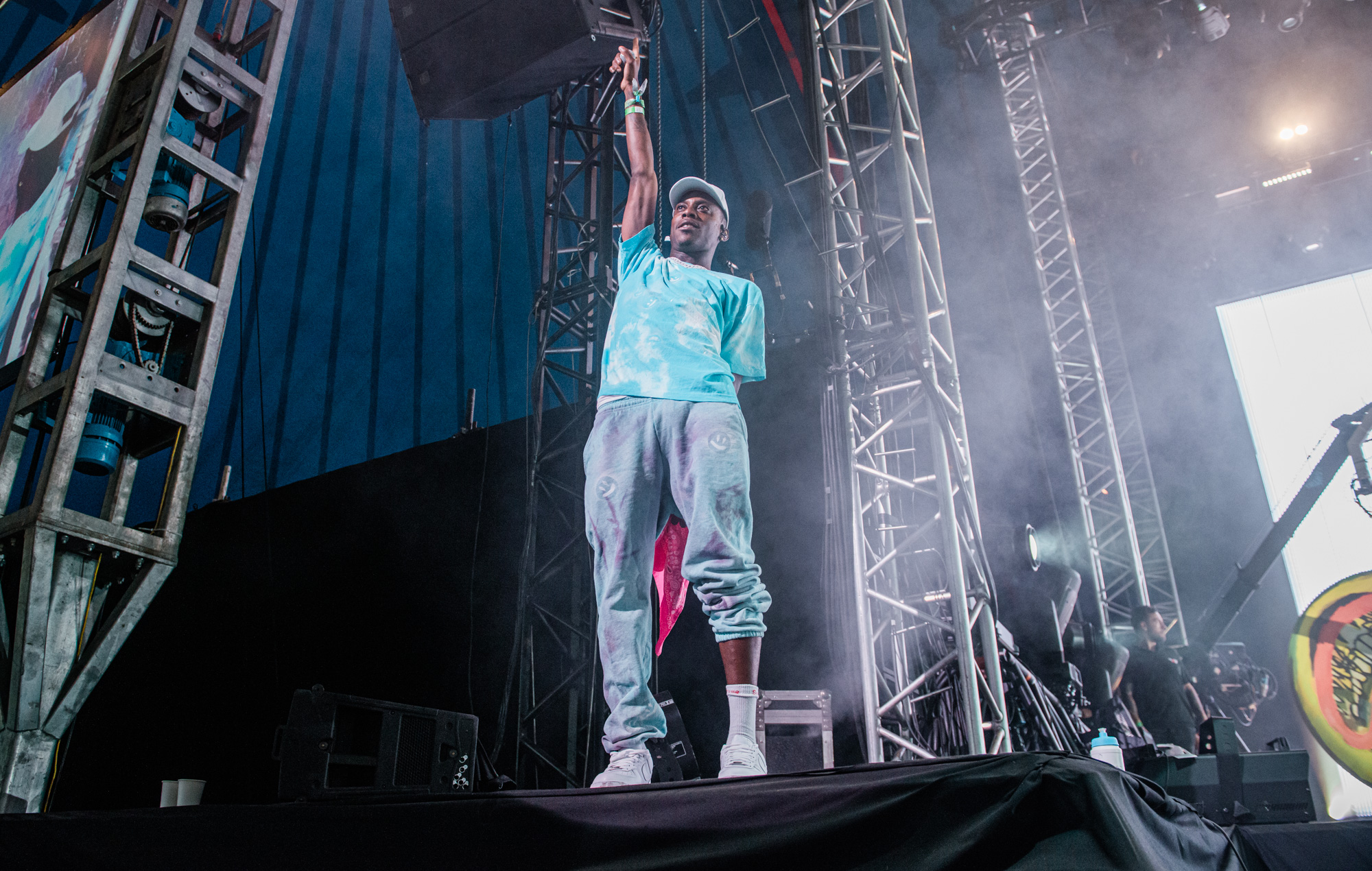Octavian's debut Glastonbury performance packs energy and