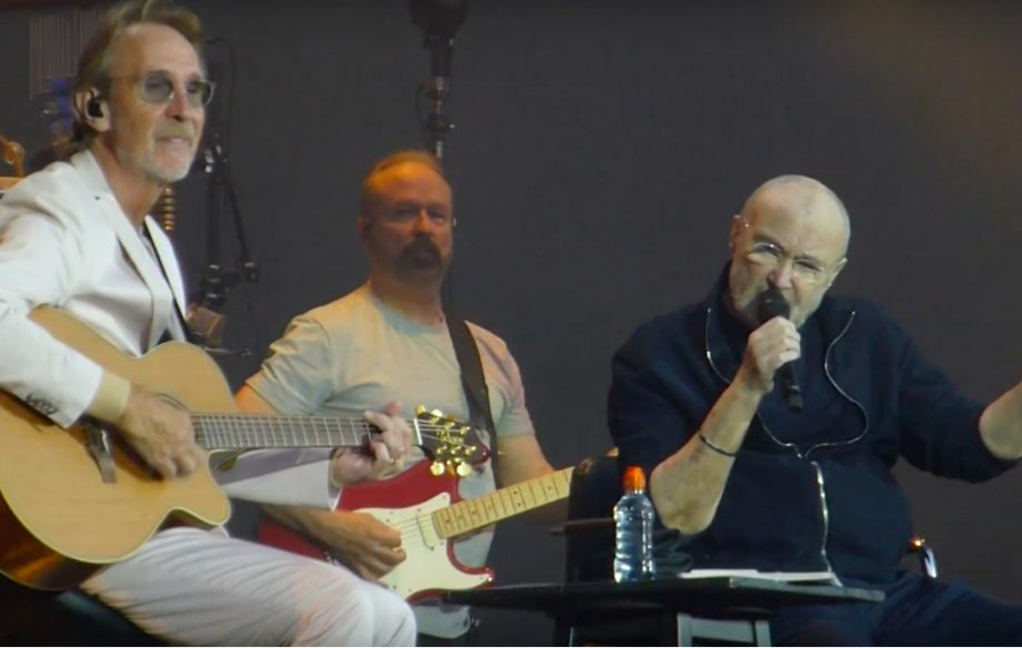 Watch Genesis' Phil Collins and Mike Rutherford reunite to perform 'Follow You Follow Me'