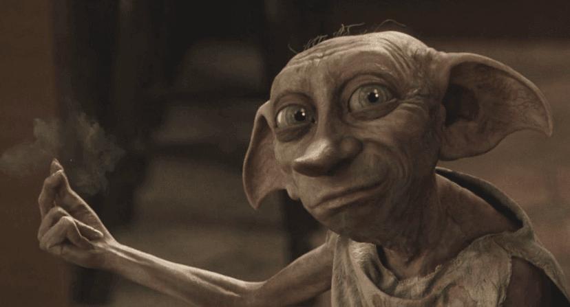 CCTV footage shows bizarre Harry Potter 'Dobby' creature