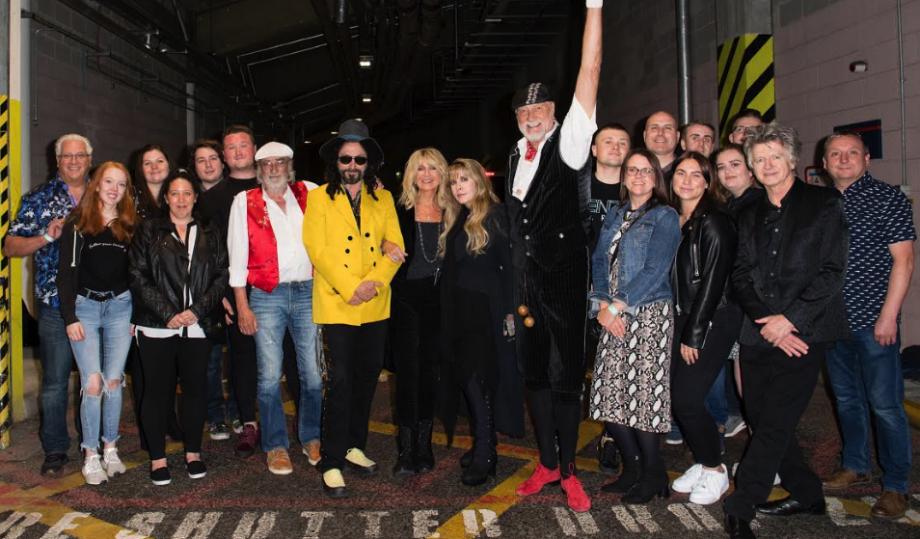 Sell Me Fries: Fleetwood McDonalds workers meet Fleetwood Mac after Stevie Nicks campaign goes viral