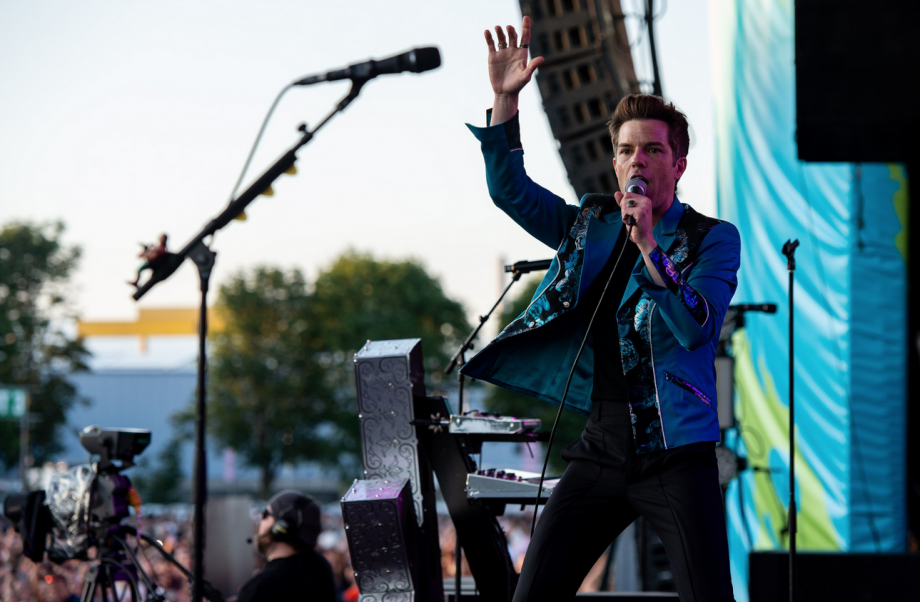 The Killers begin the road to Glastonbury with huge Belfast show