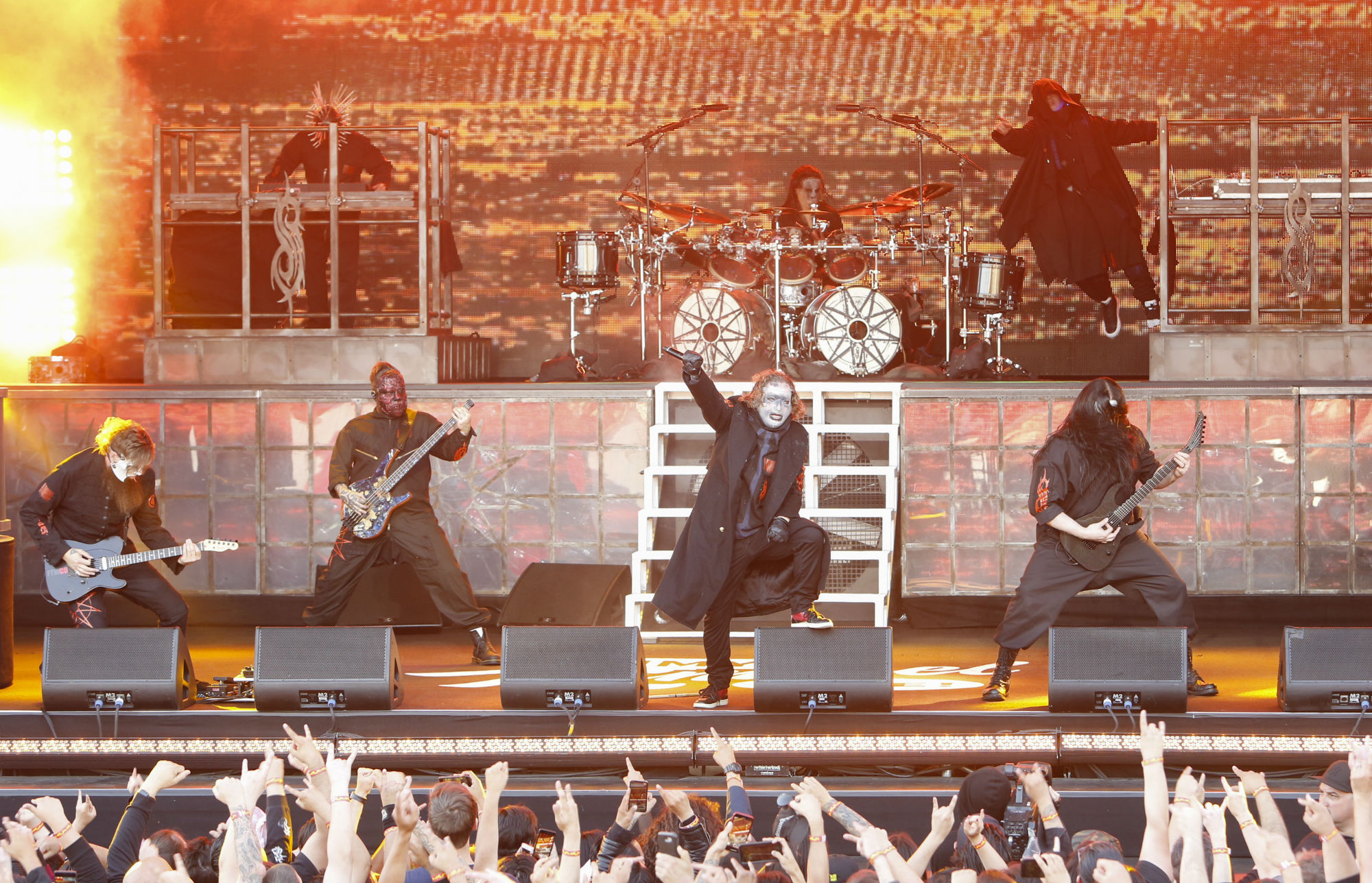Get Ready For Download Watch Slipknot S Explosive Rock Am