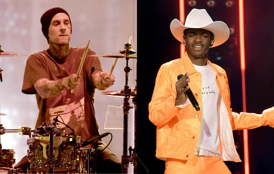 Blink-182's Travis Barker and Lil Nas X have written a new song together