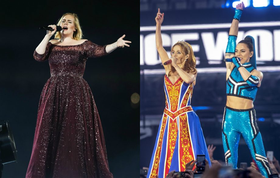 Watch Adele have the time of her life at Spice Girls' final comeback show