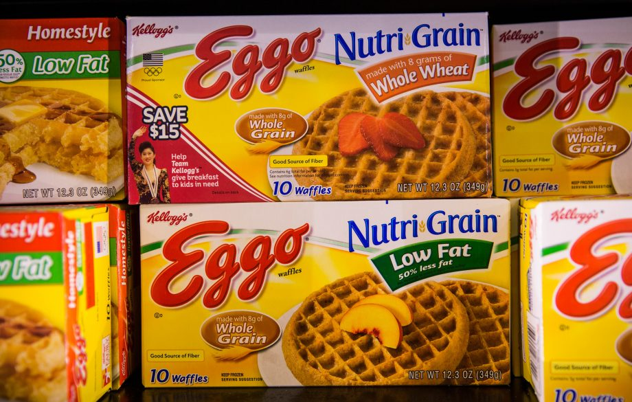 Eggo waffles channel the 80s with retro ads leading up to