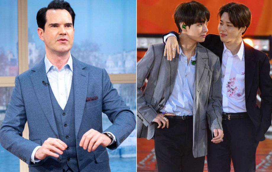 Jimmy Carr sparks outrage with joke about BTS