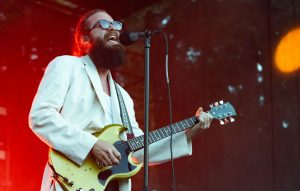 Singer/songwriter Father John Misty performs live on stage at Marymoor Park on June 11, 2019 in Redmond, Washington
