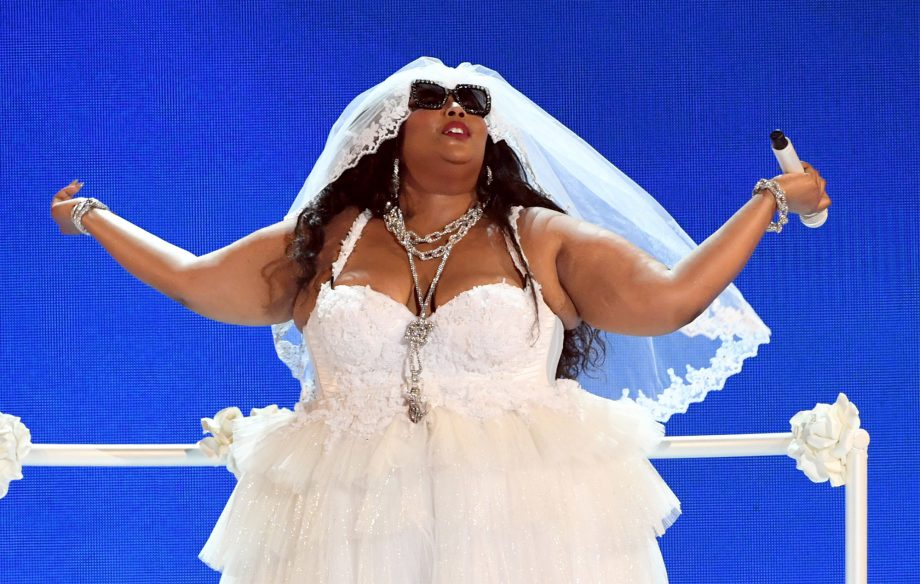 Lizzo pulls out all the stops to perform 'Truth Hurts' at BET Awards