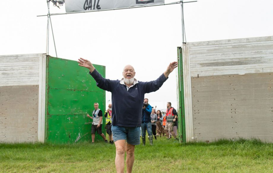 The gates are open: See the early arrivals and photos of the site at Glastonbury 2019
