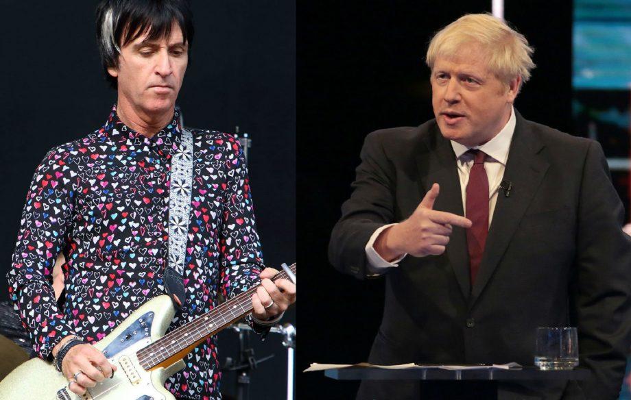 "Johnny Marr: ""People should refer to Boris as That Wanker Boris Johnson"""