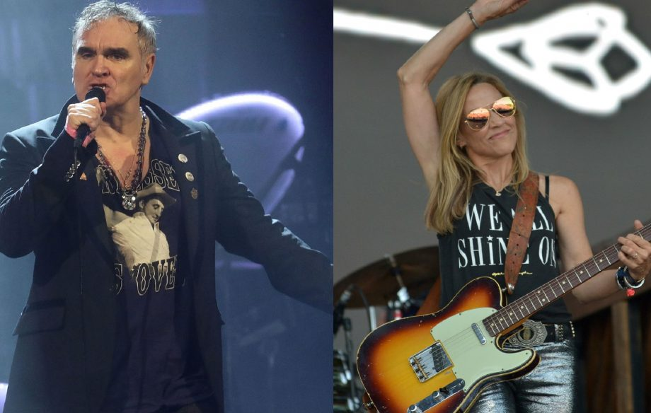 This Smiths fan has covered up his Morrissey tattoo with Sheryl Crow