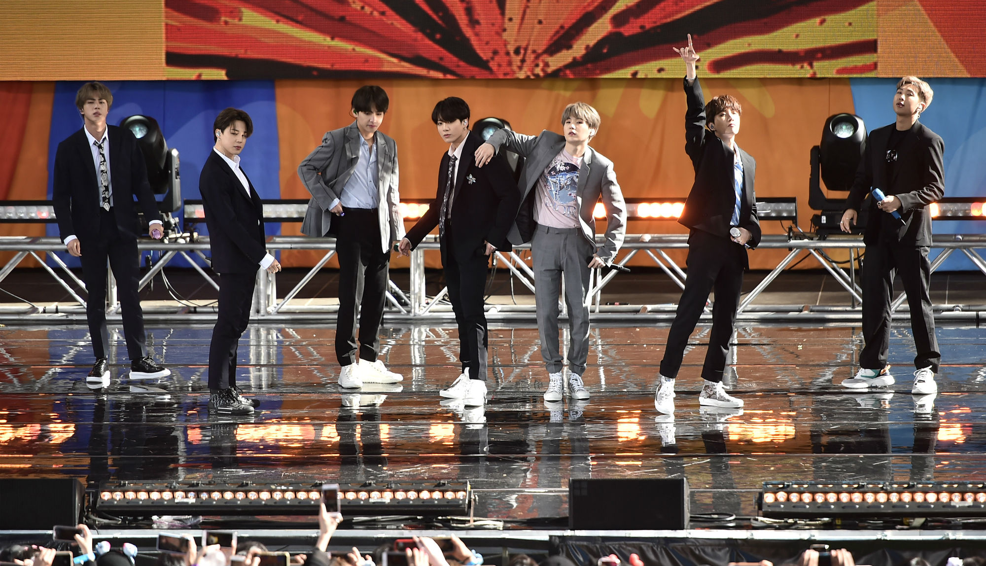 BTS to perform their 'Love Yourself: Speak Yourself' tour in