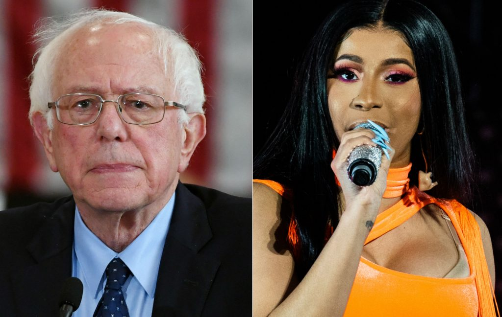 Cardi B; Bernie Sanders; USA